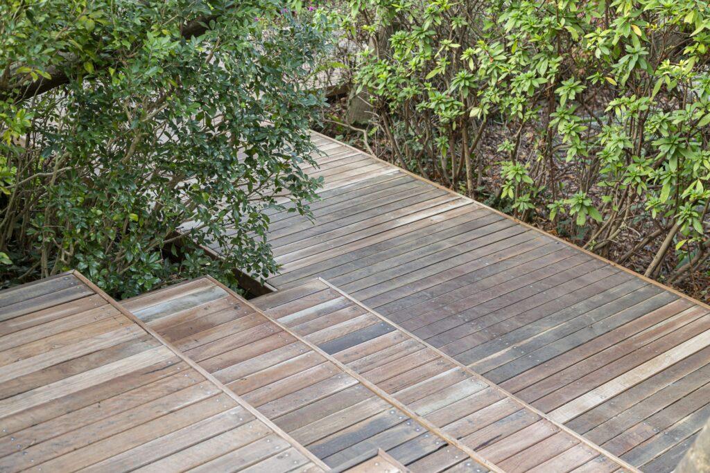 Holz Terrasse Außenbereich